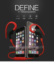 Wholesale Headset Stereo Headphones - Ear style sport trade Brand new Bluetooth headset phone Universal Wireless stereo headphones