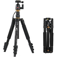 Wholesale Digital Camera Tripod Head - Beike BK-555 Pro Portable Contractive Reflexed Tripod + Camera Ball Head + Carrying Bag, Load Weight to 5kg