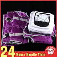 Wholesale Drainage Lymph Machine - Desktop Fashion Lymph Drainage Body Slim Weight Loss Massage Popular Pressotherapy Machine with Sauna Suit Blanket