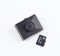 Wholesale Spy Cam Pc - Button camera mini spy DVR camera Audio Video PC DVR Voice Recorder DVR Cam 1080p Black New mini Camcorders