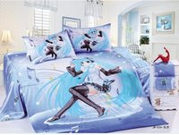 Wholesale Anime Bedding Sets - 100%cotton perform Duvet cover Sets girls bedding sets full Twin sizet anime chilrd kids bed twin full bed set