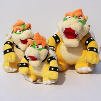 Wholesale Chose Doll - Super Mario PlushToy Bowser Plush doll 2 styles Bowser dragon doll can choose style