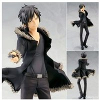 "Wholesale Izaya Figure - Wholesale-DuRaRaRa!! Orihara Izaya 1 8 scale model pvc action figure toy Collection 8.5"" 22cm"