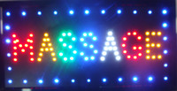 Wholesale Massage Flash - 2016 Flashing Massage LED Window Display Sign Size 19*10 Inch Indoor+Hanging Chain of LED Free Shipping