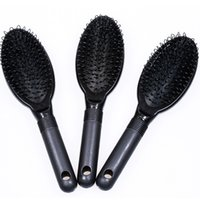 Wholesale Wig Brushes Combs - Good Loop Brush Hair Brush Hair Comb BLACK COLOR for human hair extensions or wigs  beauty salon tool