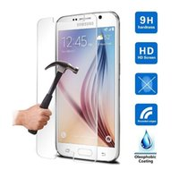 Wholesale Galaxy Note Series - Explosion-proof LCD Clear Tempered Glass For Samsung Galaxy Note Series Note 5 Note 4 Transparent Screen Protector Film
