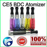 Wholesale Ego Ce5 Dual - New CE5 Clearomier Atomizer with Bottom Filling CE5 BDC Dual Coil BDC CE5 510 EGO Atomizer DHL Free