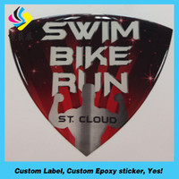 Wholesale Dome Clear Sticker Oval - Custom made oval epoxy sticker, clear epoxy resin dome sticker, dome epoxy sticker