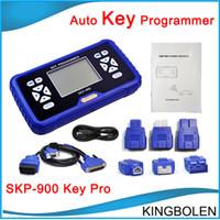 programadores obd2 al por mayor-2017 Nueva Llegada Súper OBD SKP-900 SKP 900 OBD2 Auto Clave Programador V2.3 OBDII SKP900 programador de la llave del coche DHL Envío Gratis