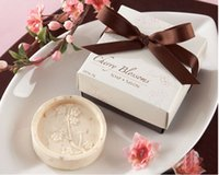 Wholesale Cherry Soap - 20pcs Cherry Blossoms Soap For Wedding Party Birthday Souvenirs Gift Favor New
