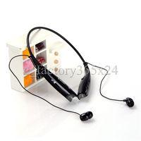 Wholesale Earphones For Iphone5 - HV-800 HV 800 Sport Neckband Headset In-ear Wireless Headphones Bluetooth Stereo Earphones Earphone Headsets For iphone5 5S S4 iphone 6