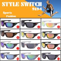 Wholesale Drop Shipping Sunglasses - 12 Colors 2015 New Glasses Riding Sunglasses Designer Sunglasses 12 Style Switch 9194 Fashion Sunglasses Drop shipping