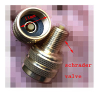 Wholesale Schrader Valve Wholesale - truck adaptor schrader valve charing connector engineering car Converter 12mm valve adapter Connector machineshop truck air joint