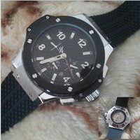 Wholesale F1 White - luxury big bang brand new! Luxury men's steel mechanical sports style F1 racing watch, black   silver style
