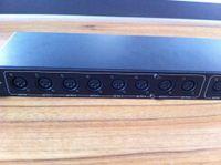 Wholesale Amplifier Rgb Dhl - DHL free shipping 8 Channel Output DMX Splitter,90V-240V Lighting Control,15W Dmx Splitter Control Stage Light Signal Amplifier Splitter