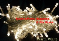 Wholesale Led Promotion Item - PROMOTION ITEMS 10M 100 LEDS Clear Wire LED String Lights 110V 220V for Christmas Party decoration X'mas holiday lights