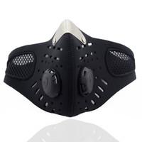 neoprene meia face máscara de esqui venda por atacado-Atacado-Sport Half Face Máscara de Inverno Máscara de Esqui Ao Ar Livre Quente Ride Bike Cap Máscara Neoprene Bicicleta Ciclismo Motocicleta Snowboard Alta