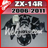 Wholesale Kawasaki Stock Fairings - In Stock Welmotocom Injection Mold Unpainted(Unpolished) Fairings For Kawasaki ZX-14R ZX14R 2006-2011 06 07 08 09 10 11 K17W00
