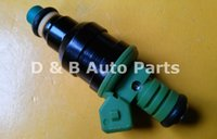 Wholesale Racing Fuel Injectors - 1pc 100% Brand Neew Green Top High Impedance 440cc Fuel Injectors 0280150558 For Tuning And Racing Cars