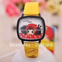 Wholesale Doll Belt Buckles - TGJW355 Fashion KEZZI Brand Watches Cartoon Doll Wristwatches Cute Children Clocks Kids Watch Hours