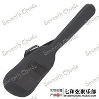 ingrosso casi di chitarra basso-Custodia per borsa a tracolla per zaino basso nero impermeabile a tracolla per basso elettrico Spugna imbottita per spessore 5 mm