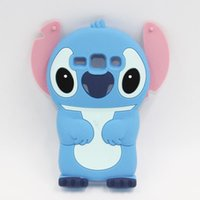 Wholesale Trend Silicone Case - Samsung Galaxy Core Plus G350 G3500 3D Stitch Silicone Phone Cases Cover For Samsung Galaxy Trend 3 G3502 Cute Cartoon Cases