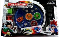 Wholesale metal fight beyblade toys online - set Beyblade Arena Spinning Top Metal Fight Beyblad Beyblade Metal Fusion Children Gifts Classic Toys