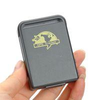 mini gps portáteis de rastreamento venda por atacado-GPS o perseguidor portátil em linha o menor TK102 de GPS do mini dispositivo do dispositivo do seguimento