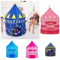 Girl Princess Castle Portable Kids Play Tenda Tende da gioco all'aperto per esterni Playhouse Play Tenda Kids Girl Princess Castle Outdoor House KKA3249