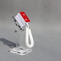 дисплей для розничной продажи оптовых-Безопасность дисплей стенд для мобильного телефона смартфон,акриловый материал, розничная противоугонная дисплей стенды без сигнализации Оптовая Бесплатная доставка