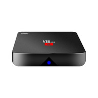 Wholesale Cheapest Quad Core Tv Box - Android 7.1 V88 tv boxe Cheapest RK3229 Quad-Core 1GB 8GB Smart Tv Box WiFi 3D HDMI TV Cheap Set-top Box Media Player
