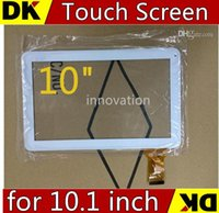 Wholesale Rk3188 Tablet Inch - SGpost Hot Replacement original Touch Screen with Glass lens for 10.1 inch tablet pc A31S RK3188 Quad core black and white TC10