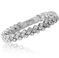 Wholesale Incredible New - 2015 new incredible shiny new arrivals romantic cubic zircon 925 sterling silver ladies`bracelets jewelry gift