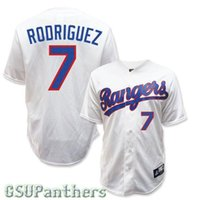 Wholesale Cheap Baseball Style Jerseys - 2015 New Cheap IVAN RODRIGUEZ 7# Texas Rangers 1993 Cooperstown Throwback Baseball Jersey grey red white blue various styles More color