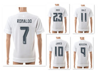 Wholesale Seasons Soccer Jersey - Wholesale 15-16 Season 7# RONALDO Athletic Soccer Jerseys Shirts,Training Soccer Jerseys,Customized Thai Quality Soccer Top Football Tops