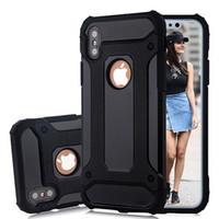 Wholesale Sansumg Phones - SGP Hybrid Slim Armor Phone Case Defender Shockproof Protector Cases for Sansumg S7 Edge S8 Plus iPhone 7 8 Plus iPhone X
