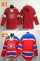 Wholesale Hooded Sweatshirt Blank - montreal canadiens #blank Cheap Hockey Hooded Stitched Old Time Hoodies Sweatshirt Jerseys