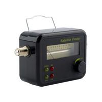 ingrosso contatore di segnale hd-Satfinder digitale con display LCD Buzzer TV Satellite Finder Meter Satellite Signal Finder Meter Tester TV Ricevitore all'ingrosso