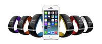 l12s запястье оптовых-Продажа L12S OLED сенсорный экран Bluetooth браслет наручные часы Smart Watch для IOS iPhone Samsung и Android телефонный звонок ответ / SMS напоминание