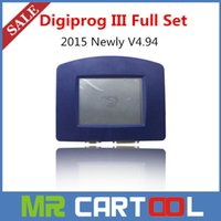 Wholesale Digiprog Full Set - 2015 Newly V4.94 Digiprog iii Digiprog 3 full set Odometer Programmer With Full Software + all cables Odometer Correction DHL Free shipping