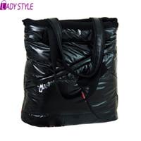 Wholesale Handbag Warm - Wholesale-Lady Style! New 2015 Women Bag Cotton Warm Hand Shoulder Bags Winter Bags Handbags High Quality Bolsa Feminina HL7039