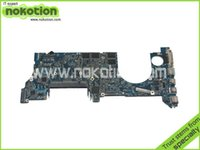 Wholesale Mother Cpu - Wholesale-For Macbook Pro 15 A1260 Laptop motherboard 2008 MB133LLA 2.4GHz T8300 CPU onboard graphics update ddr2 Mainboard Mother Boards