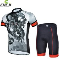 Wholesale Dragon Cycle Set - 2015 Dragon Cycling Jerseys Set Comfortable Flexible Breathable Quick Dry Biking Jerseys Clothing and Trousers