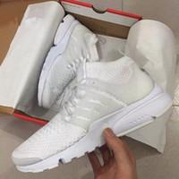 Wholesale Air Concrete - 2017 TOP Air PRESTO BR QS Breathe Black White Mens Basketball Shoes Sneakers Women Running Shoes For Men Sports Shoe,Walking designer shoes
