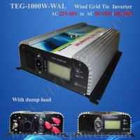 Wholesale Wind Mppt 24v - MPPT On grid 24v to 240v ac to ac 1000w wind inverter