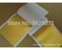 Wholesale Sheet China Wholesale - 1509 1000 sheets Taiwan shiny Imitation gold leaf color like 24k gold free shipping