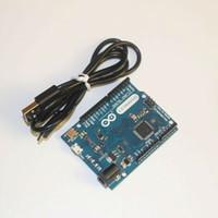 Wholesale Electronic Voltage Regulator - Wholesale-Hot Sale Smart Electronics for Arduino Leonardo R3 ATmega32u4 Development Board with USB Cable for DIY Starter Kit Free Shipping
