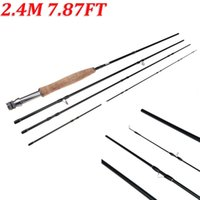 Wholesale 2014 NEW M FT Fly Fishing Rod Pole Outdoor Travel Pesca Carbon Hard Sea Carp Fishing Tackle Rods Sections