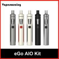 Wholesale Ego Mini Starter Kits - Authentic Joyetech eGo AIO Starter Kits 2ml Tank 1500mAh eGo AIO battery Revolutional Anti-leak Tank vs eGo ONE Topbox mini Subovd Mega TC