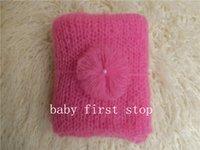 Wholesale Mohair Wraps - newborn photography props wrap, mohair wrap suit(size:75X45cm)